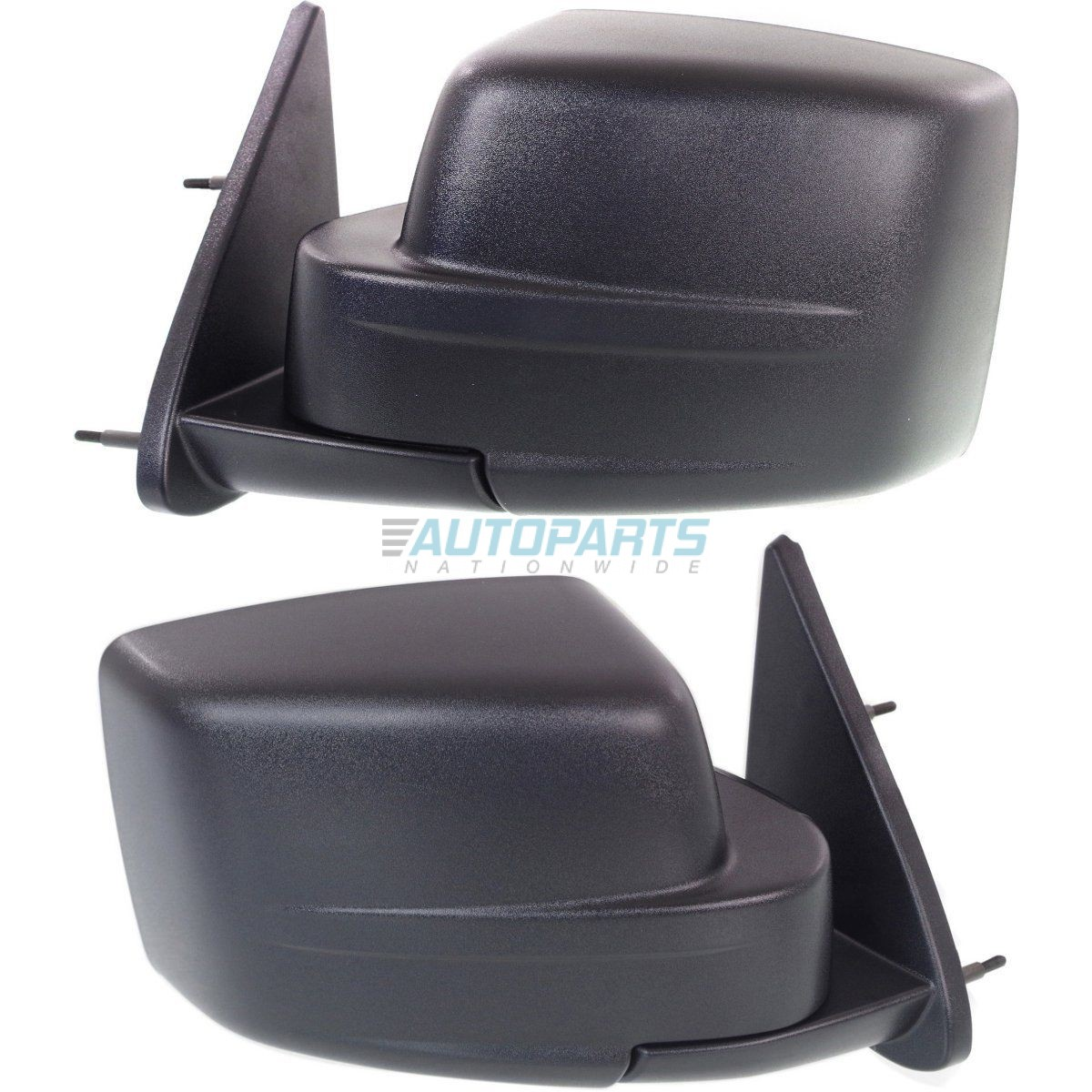 NEW RIGHT MANUAL MIRROR TEXTURED BLACK FITS 2007-2012 DODGE CALIBER CH1321264