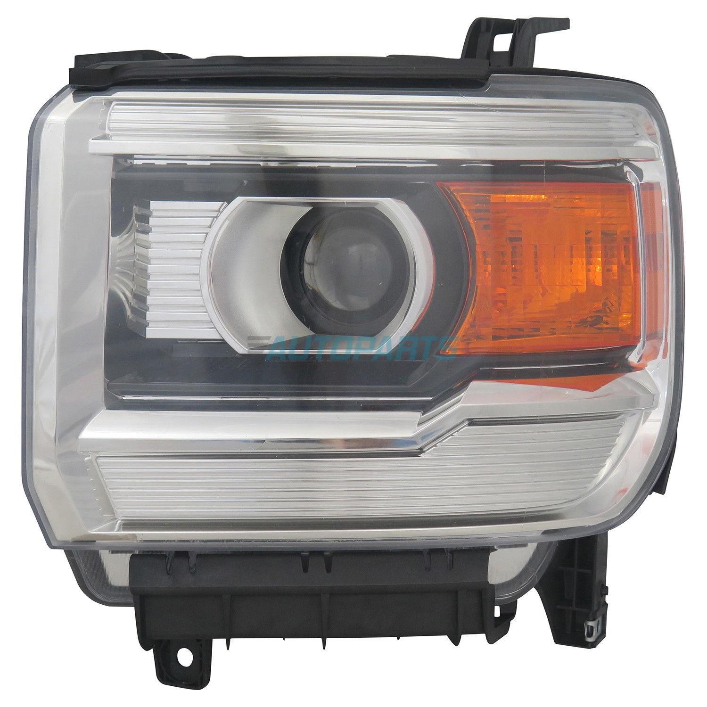 Head Lamp Bracket Passenger Side Fits Silverado 1500 Sierra 1500 GM2509114