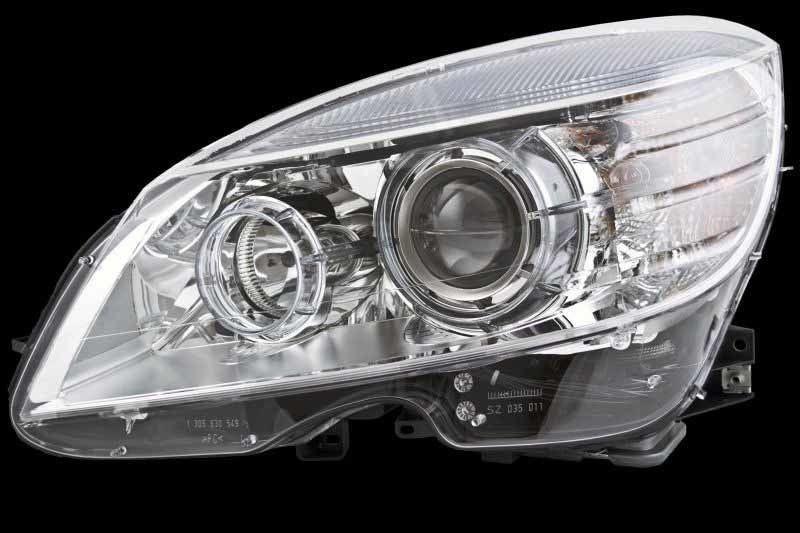 Ots 2008-2011 Fits Mercedes-benz C350 C230 C300 Left Side Head Light  MB2502166