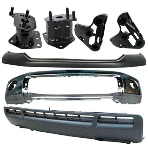 for Toyota Tundra TO1066170 2007 to 2013 Front, Driver Side New Bumper Bracket
