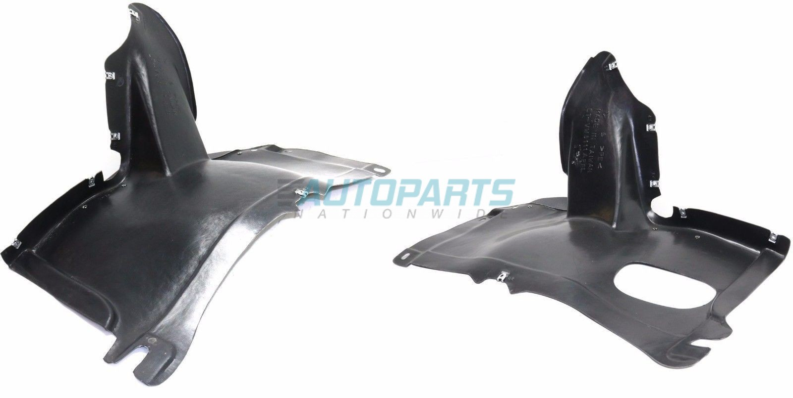 fits 1998-2001 PASSAT Front DRIVER Bumper Inner Fender Splash Shield Liner NEW